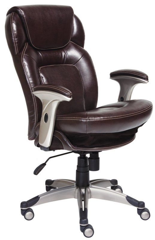 serta back in motion health and wellness midback office chair frye chocolate best ergonomic computer - Best Ergonomic Chair