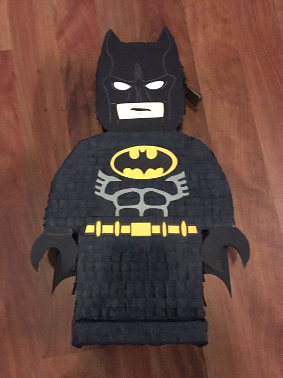Lego Batman Pinata by crazykelcraft on Etsy