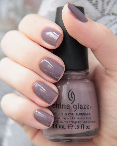 China Glaze - Below Deck. This is a neutral shade that goes with everything.........