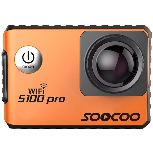 SOOCOO S100 Pro NTK96660 4K Wifi Sports Action Camera Touch Screen Built-in Gyro with GPS Extension Sale - Banggood.com