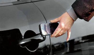 UNIVERSO PARALLELO: Aprire auto con smartphone: addio chiavi