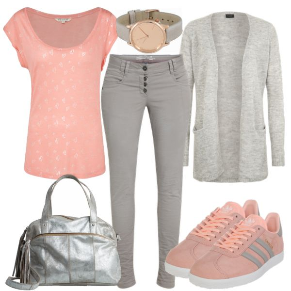 Leisure Outfits: SilverHearts at FrauenOutfits.de ___ #outfit # ladies outfit #fa …