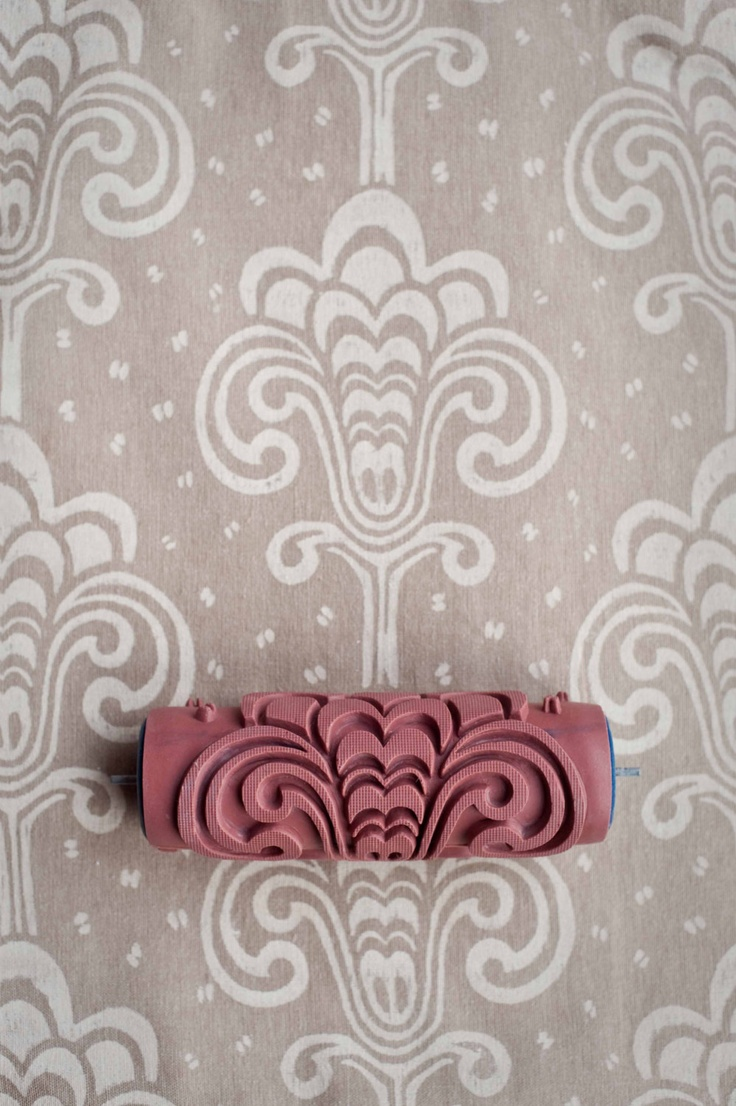 1000 ideas about patterned paint rollers on pinterest paint rollers painting wall designs. Black Bedroom Furniture Sets. Home Design Ideas