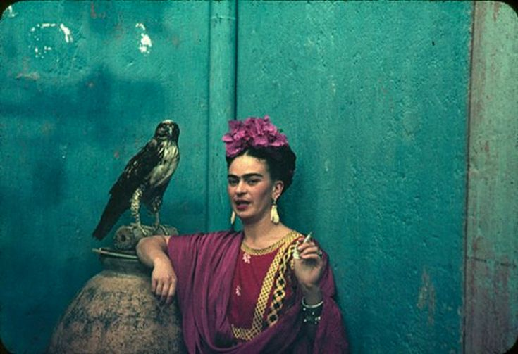 Frida Kahlo was a Mexican painter who became one of the most famous women in history of Latin America. Apart from creating great works of art, was also a poet.