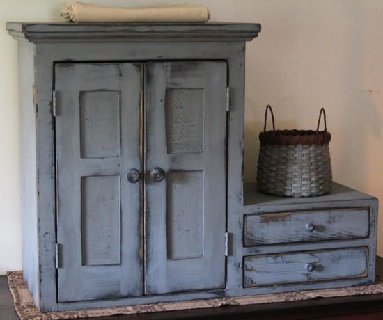 Exceptional Primitives  Primitive Country Furniture Primitive Painted Furniture