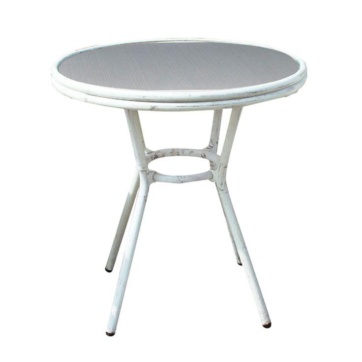 Τραπέζι Figaro Antique White Ε279,3 Φ70Χ75 cm