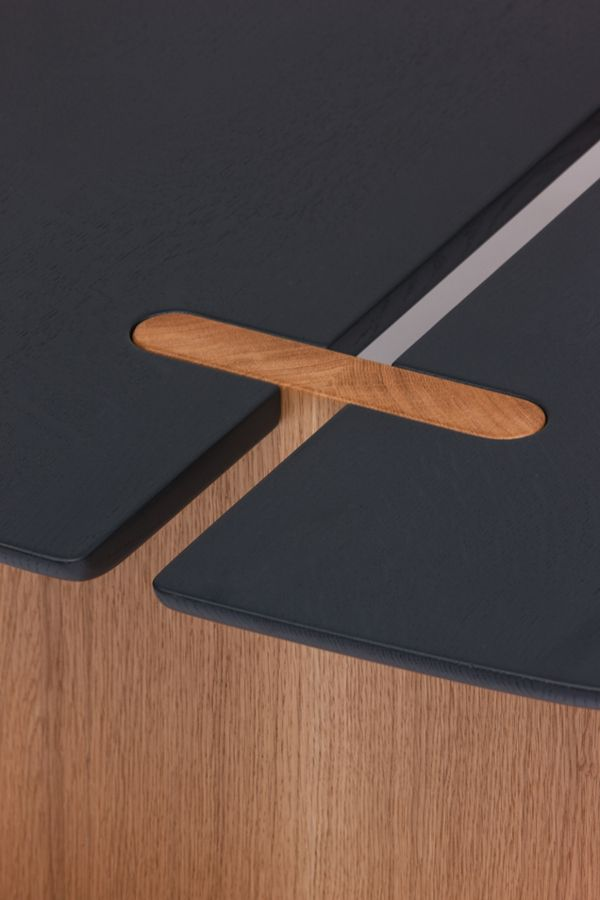 Details we like / Table / Black / Wood / Crossection / Insert / Surf / 2013 by Guillaume Delvigne/ at behance
