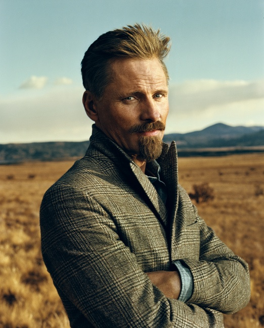 Viggo Mortensen, born October 20th, is very close to the cusp of Libra and Scorpio. One more reason I love this actor!
