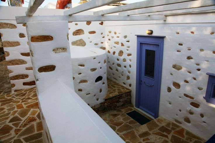 Traditional Family Stone Villa on Syros island in Greece