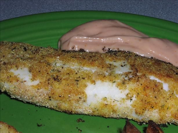 Check out weight watcher oven fried fish it 39 s so easy to for Oven grilled fish recipes