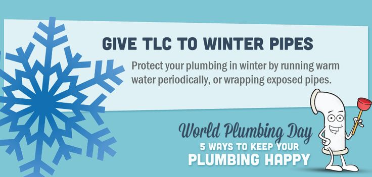 Give TLC to winter pipes #plumbing #tips #tricks #pipes #ideas #information #helpful #Home #DIY #information #graphic