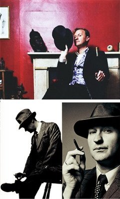 Mark Gatiss...brilliant comic actor. Also writer/producer/actor in Doctor Who and Sherlock. Love him!