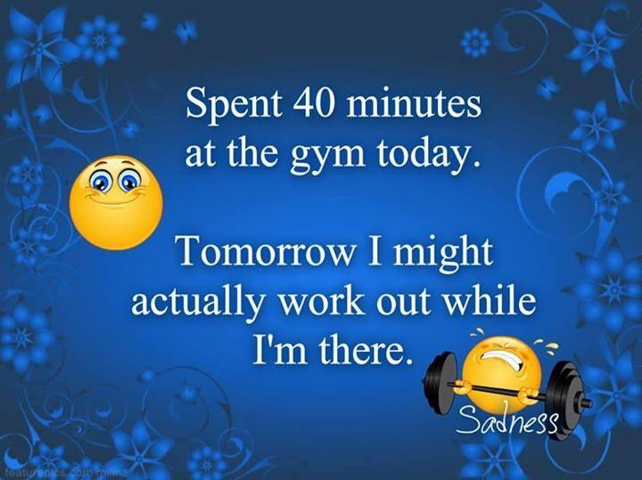 Gym Time!!! ↖(°o°)↗ Sounds like me!!! Ahahahahaha!!!