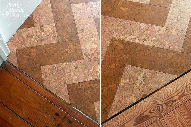 Installing Cork Tile Flooring In The Kitchen In 2020 Cork Flooring Flooring Tile Floor