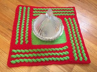 Ravelry: Stand Out Cable Doily pattern by Shelley Moore