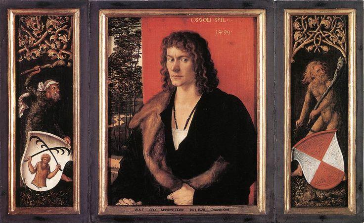 Πορτρέτο του Oswolt Krel (1499)