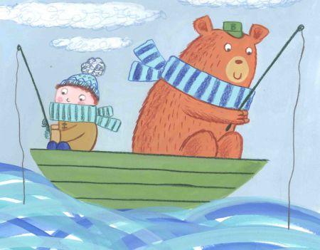 Kay Widdowson - Boy, Bear In A Boat