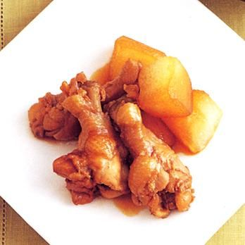 とうがんと手羽元のビネガー煮 | 牧野直子さんの煮ものの料理レシピ | プロの簡単料理レシピはレタスクラブニュース