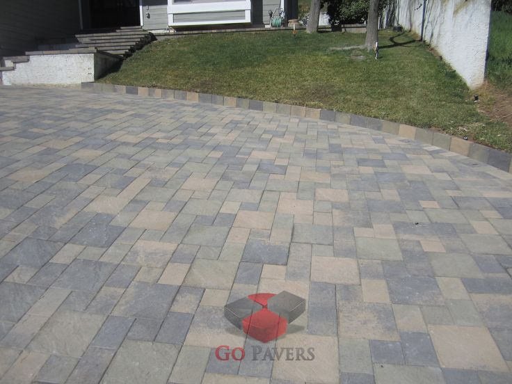 8 best images about olsen pavingstone inc on pinterest for Sloped driveway options