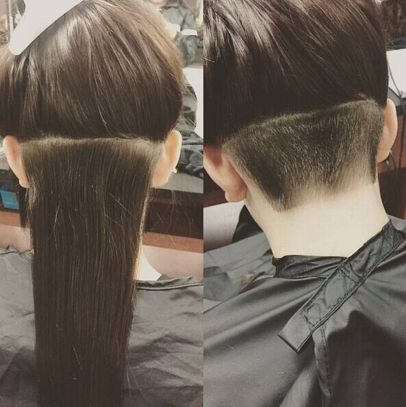 29 Super Undercut Frisuren für Mädchen – Neueste Frisuren 2018