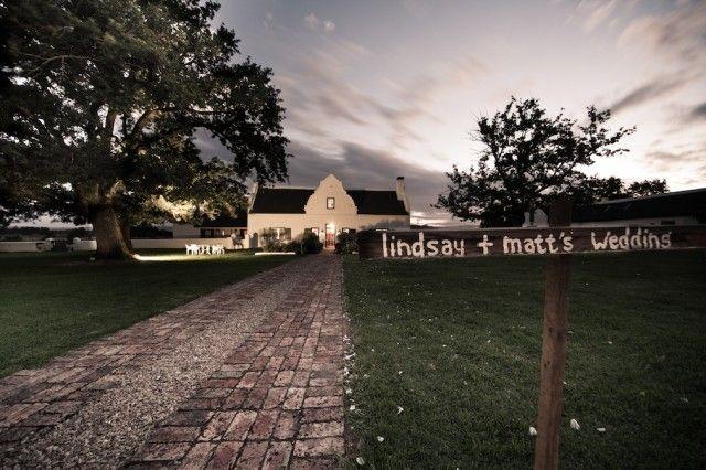 WEDDING VENUE: The Oaks Estate, Greyton, Western Cape.