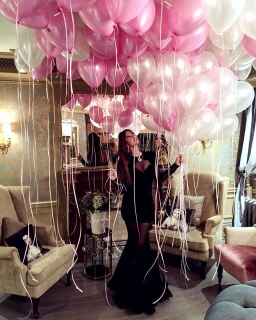 25 best ideas about pink balloons on pinterest pink for 35th birthday decoration ideas