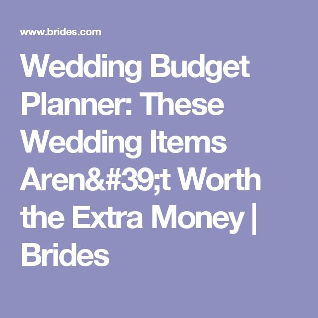 Best 25+ Wedding budget planner ideas on Pinterest Wedding list - sample wedding budget