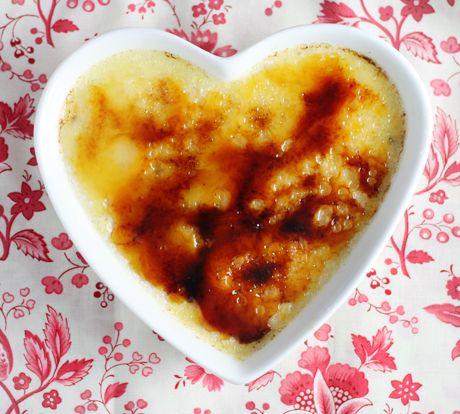 Crème Brûlée for Your Sweetheart