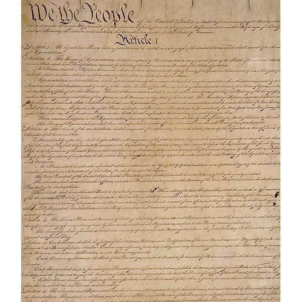 a history of the bill of rights in the constitution of the united states Simplified constitution of the united states  article 1 – creates the two parts of congress they are responsible for making laws  the bill of rights .