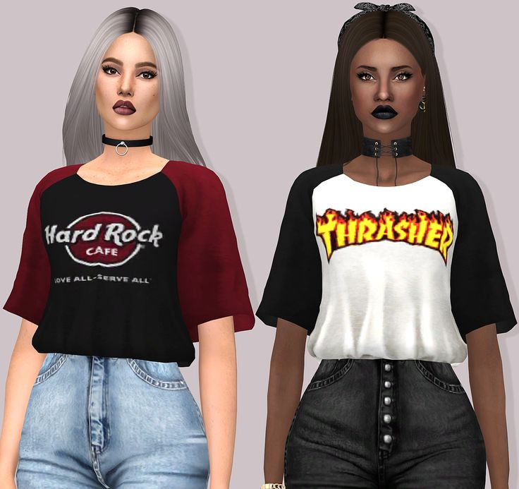 AERYS TOP - by Lumy-Sims