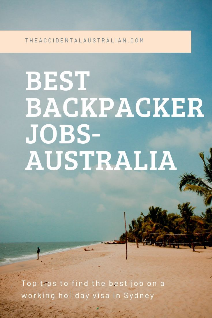 Best Backpacker Jobs in Sydney