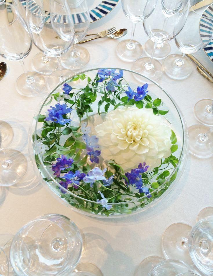 # Vress et Rose # Wedding # blue # purple# white green # bouquet # Guest table # table # Flower # Bridal #Vintage # ブレスエットロゼ #ウエディング# ブルー #パープル #ホワイトブルー#テーブルコーディネート# ゲストテーブル #テーブル # 花#ナチュラル# ブライダル#結婚式