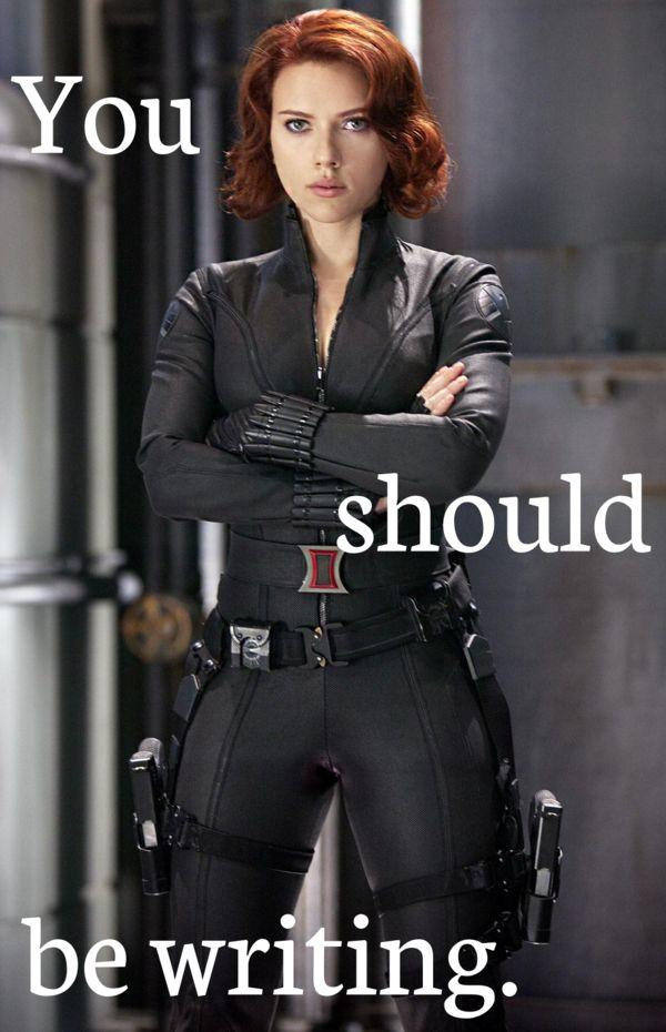 Black Widow (Scarlett Johansson) - You should be writing.png