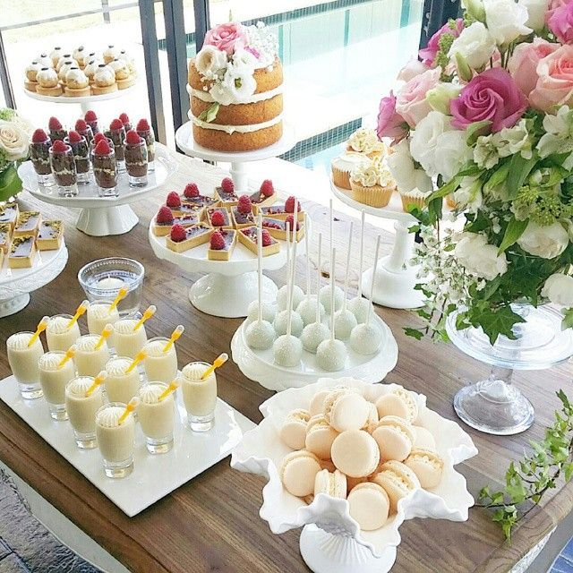 dessert table / sweetbloomcakes