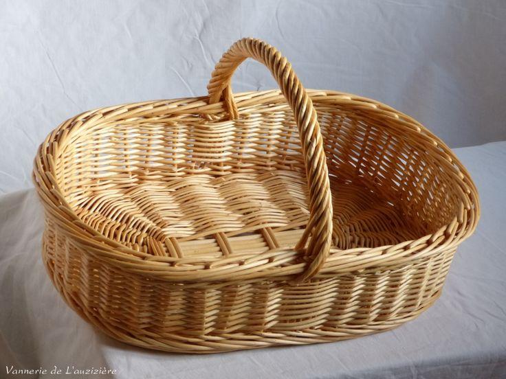 Panier à beurre en osier - artisanat - vente en ligne