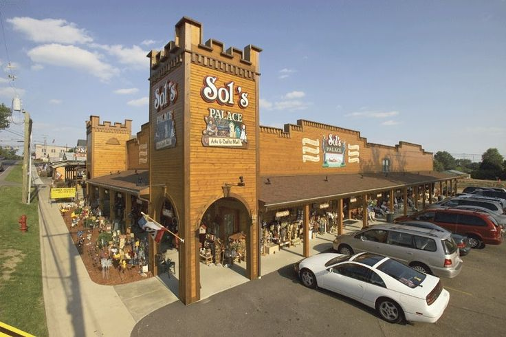 Sol's In Berlin - Ohio's Largest Craft Mall.  Three buildings, multi-floors, lots of crafts!  Located on Main Street (SR39) in downtown Berlin