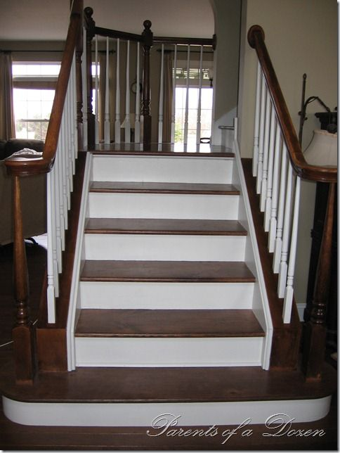 Best Remove Carpet From Stairs Redo Stairs Stair Renovation 400 x 300