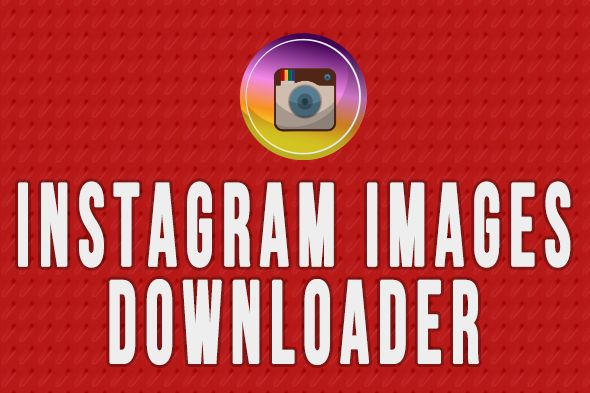 cool Instagram Pictures Downloader - Chrome Extension &amp Application (Miscellaneous)