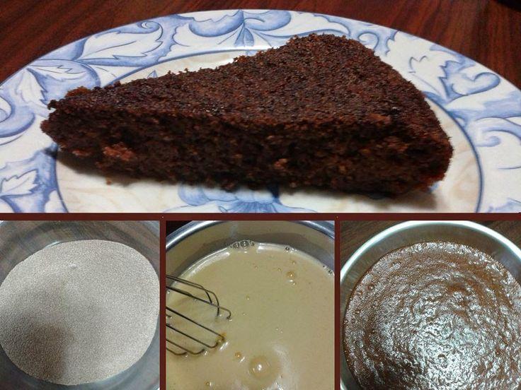 """Υλικά     Για το """"κέικ""""   1/2 ποτήρι φρουκτόζη   1 1/2 χυμό πορτοκάλι   1 κ.γ. σόδα σκόνη   125 γρ. ψιλό σιμιγδάλι   125 γρ. χοντρό σι..."""