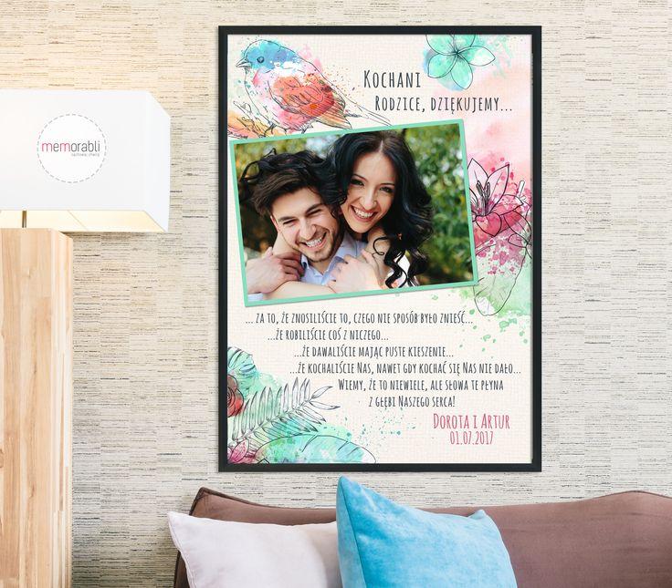 Podziękowania dla rodziców  #walentynki #love #ślub #wedding #rocznica #valentinesday #anniversary #memorabli #handmade #plakaty #poster #nasciane #dekoracjapokoju #maż #żona #certyfikat