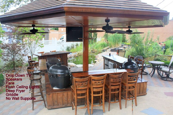 Custom Outdoor Kitchen For The Big Green Egg Kamado Joe