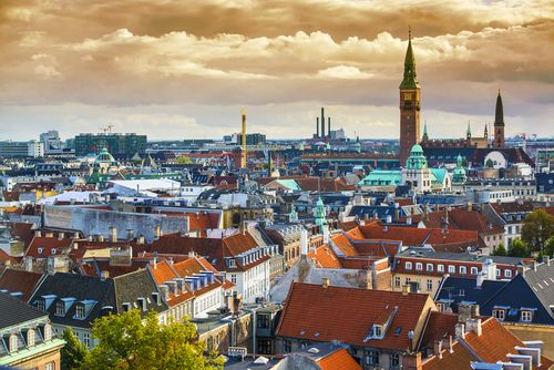 Denmark  tops the list of the most peaceful countries on Earth since it's really a safe place to live. Even while Copenhagen, the capital of Denmark, was under occupation by the Nazis during the World War II, it still did not fight.