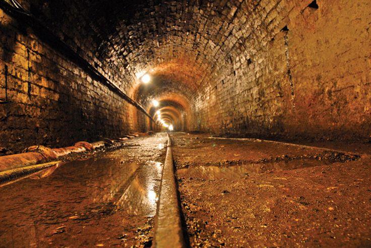 Tar Tunnel Ironbridge Shropshire