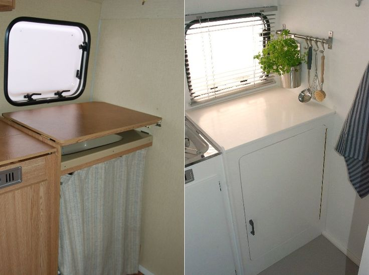 Before & after #caravan