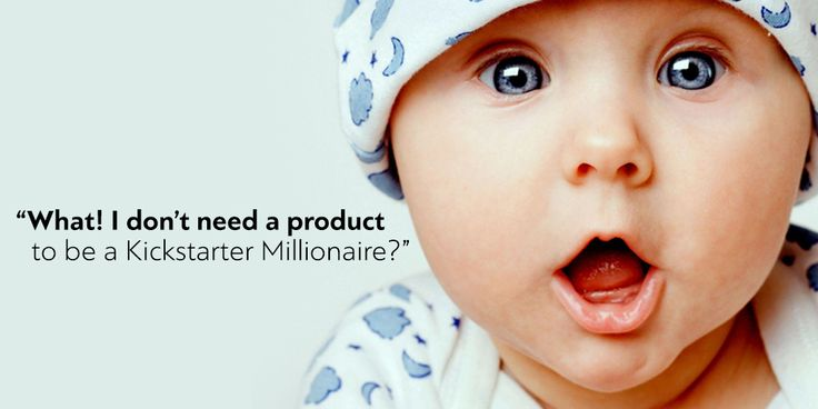 By This Time Next Month You Could Be a Kickstarter Millionaire…Even if You Don't Have a Product! http://goo.gl/oj5xt8