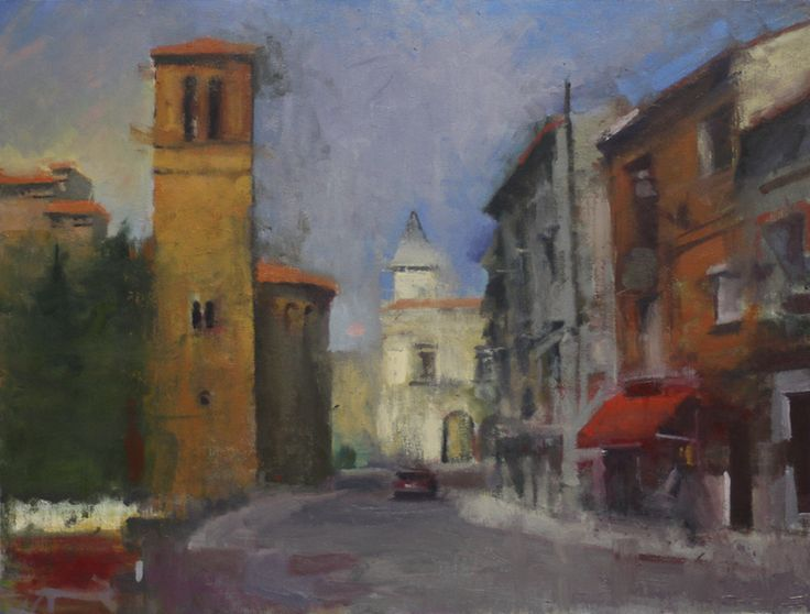"Vasilis Liaouris ""The streets of Toledo"" | Ena art Gallery | Athens #art #exhibition #el_greco #athens #gallery #kolonaki # greece"