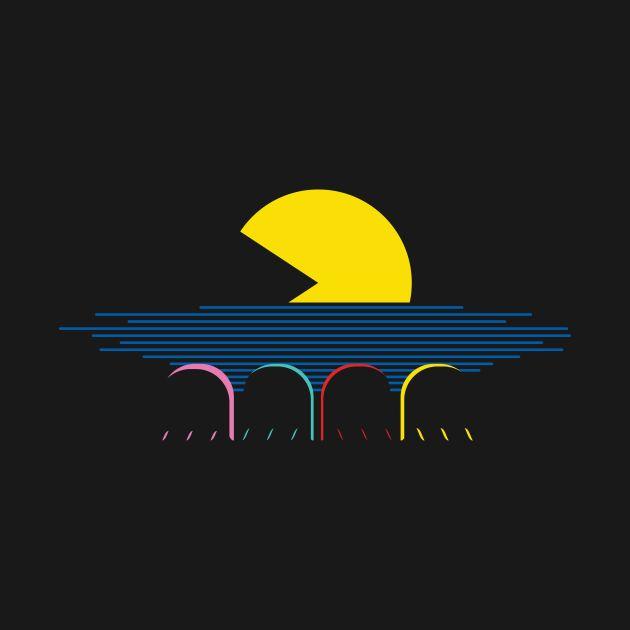 Awesome 'Retro+sunset' design on TeePublic!