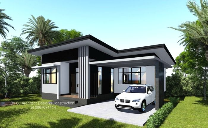 Check This Petite And Compact Two Bedroom Bungalow Just Another Low Cost Design House And Decors House Design Bungalow House Design Cool House Designs Small modern house design bungalow