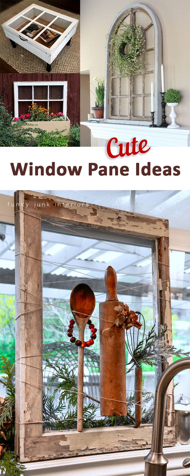 Old Window Frame Projects 225 Best Windows Creative Reuse Upcycling Inspiration Images