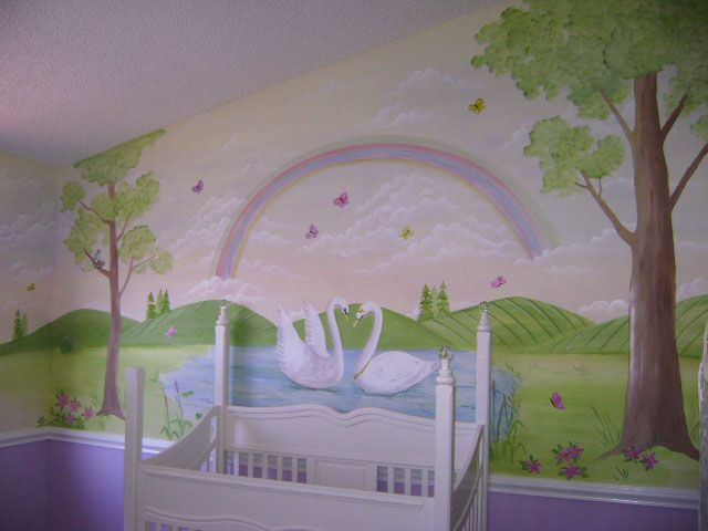 Superb Childrenu0027s Murals   Decorating Ideas For Baby   Toddler   Kids . Home Design Ideas